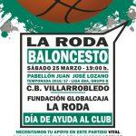 Cartel Fundación Globalcaja La Roda - CB Villarrobledo