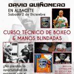 Cartel Masterclass David Quiñonero en Albacete