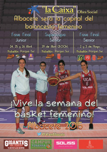 Cartel Semana del Baloncesto Femenino