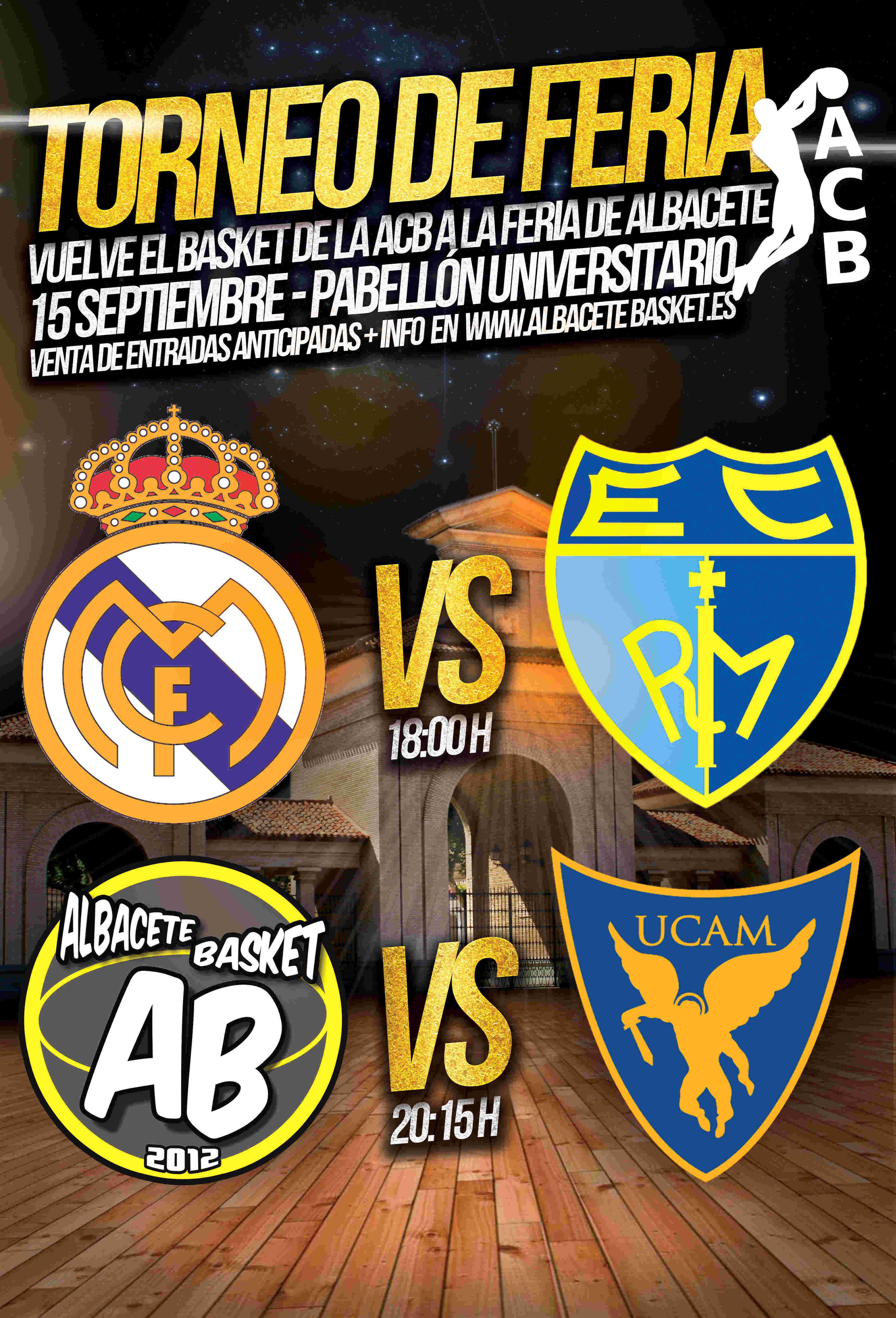 Cartel Torneo Feria ACB