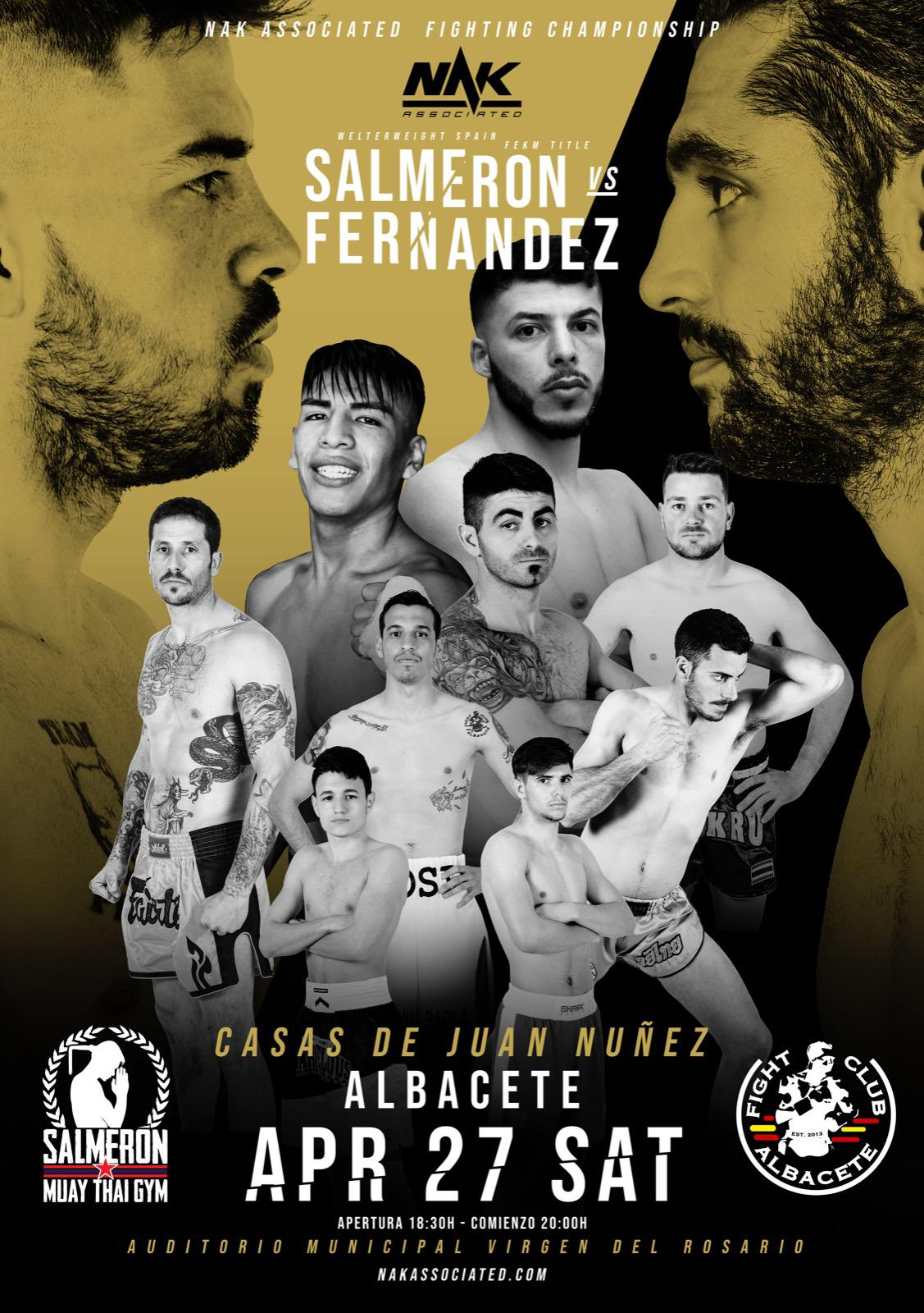 Cartel Velada Boxeo