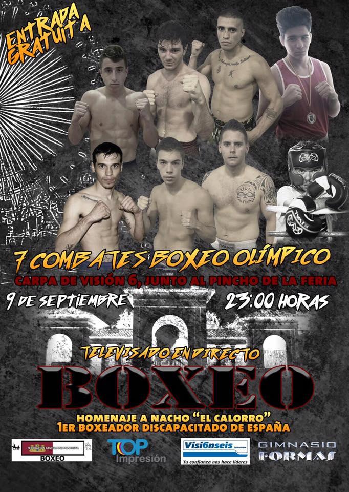Cartel Velada de Boxeo