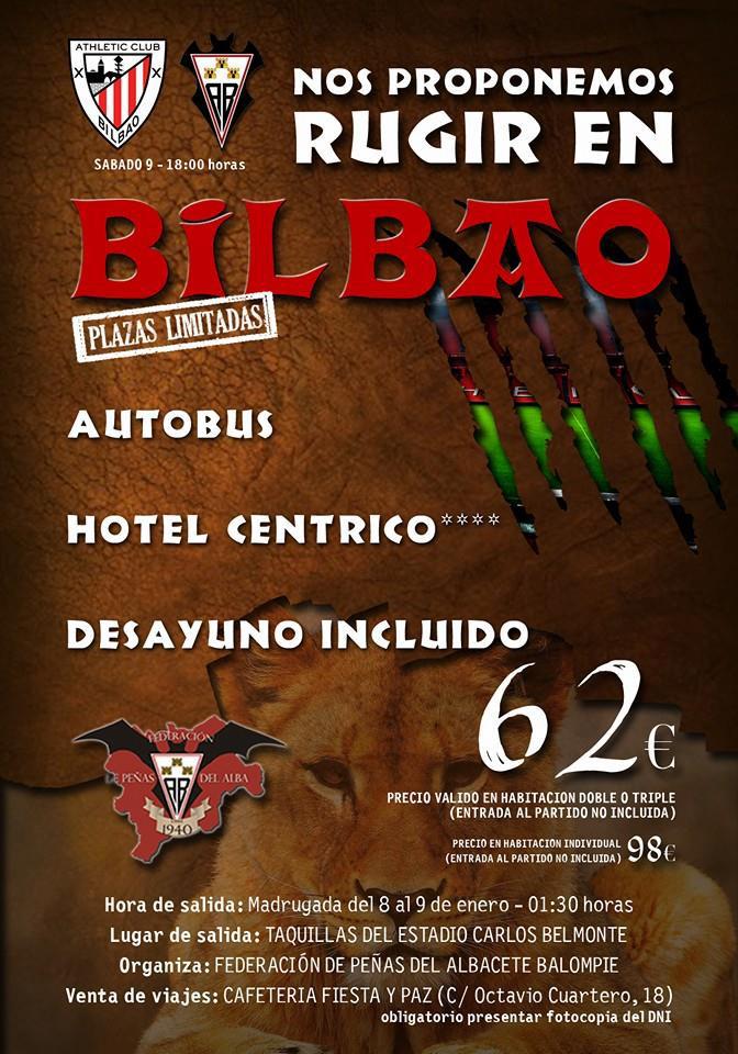 Cartel Viaje a Bilbao