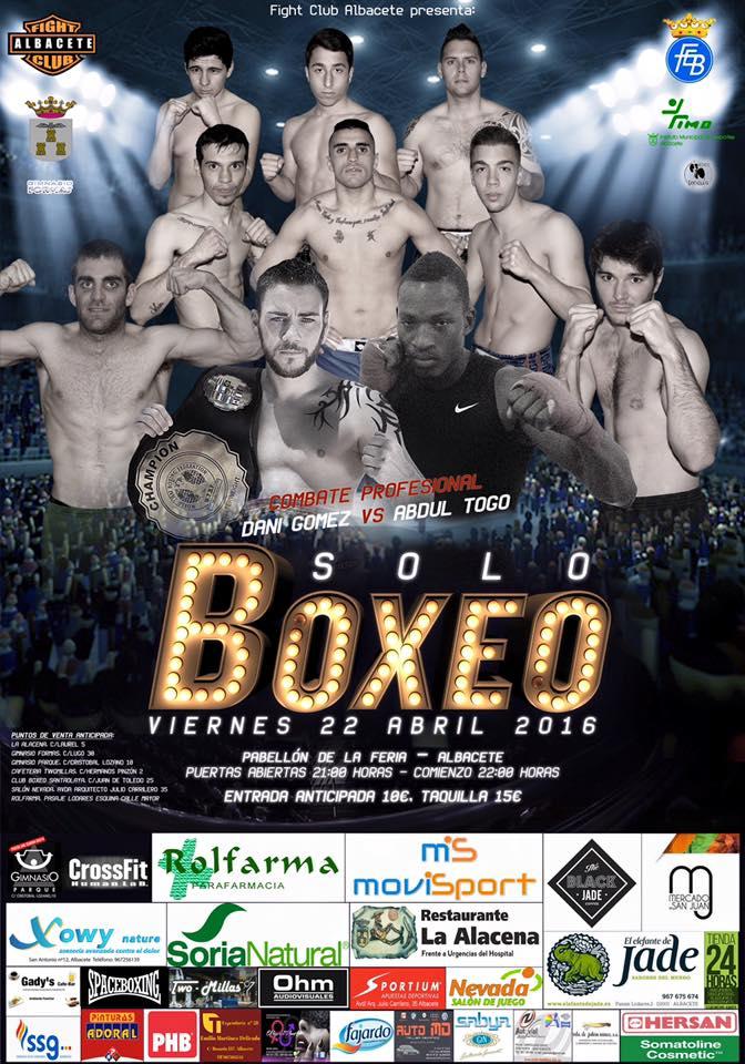 Cartel de boxeo