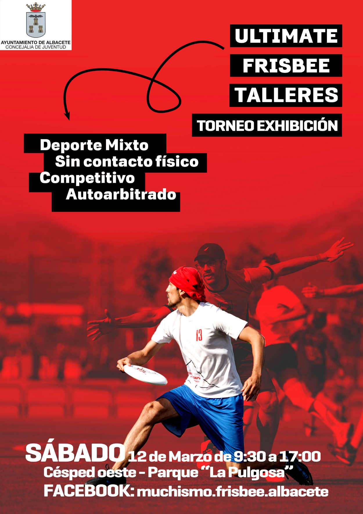 Cartel del Ultimate Frisbee