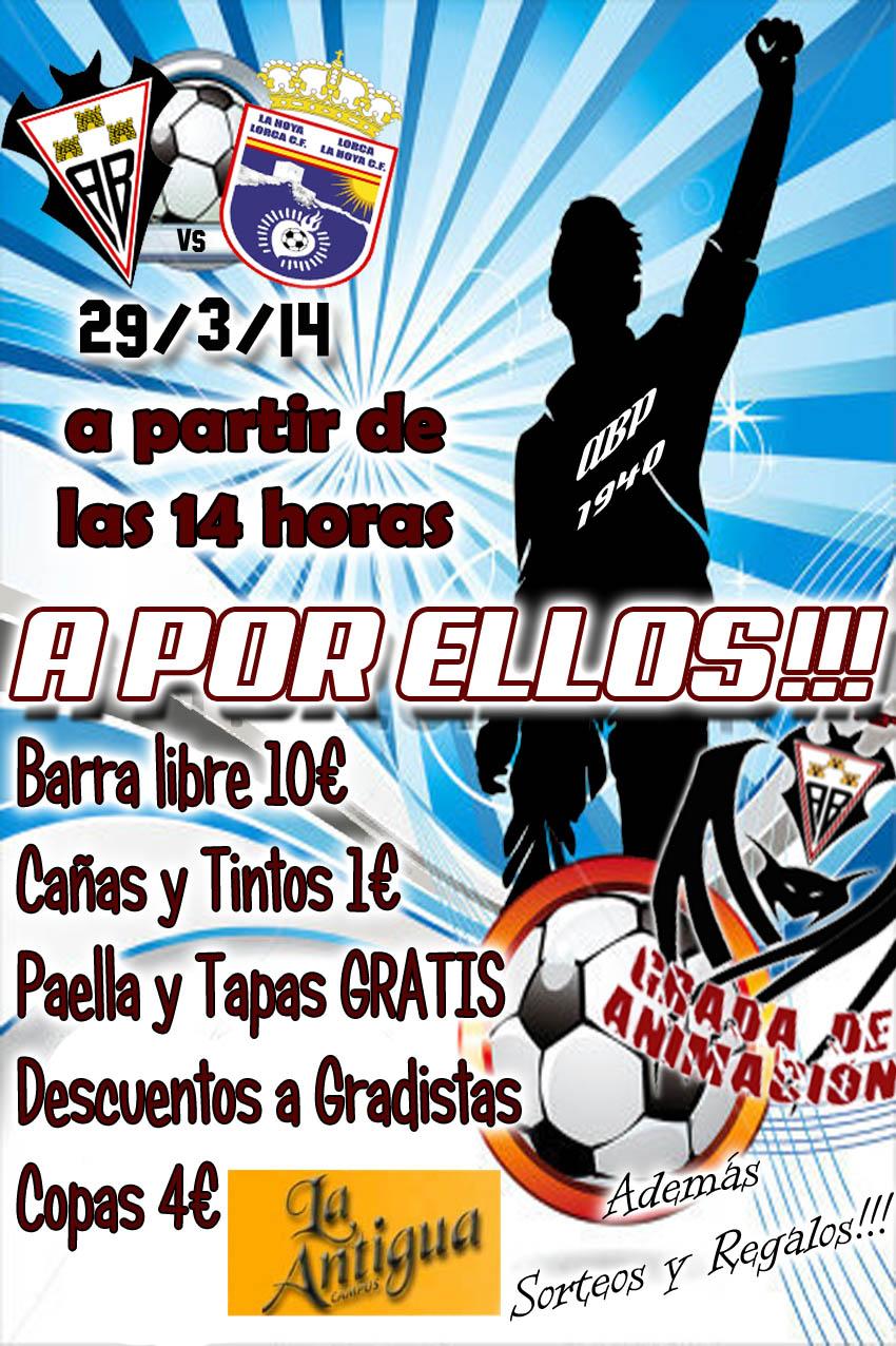 Cartel previa La Hoya Lorca
