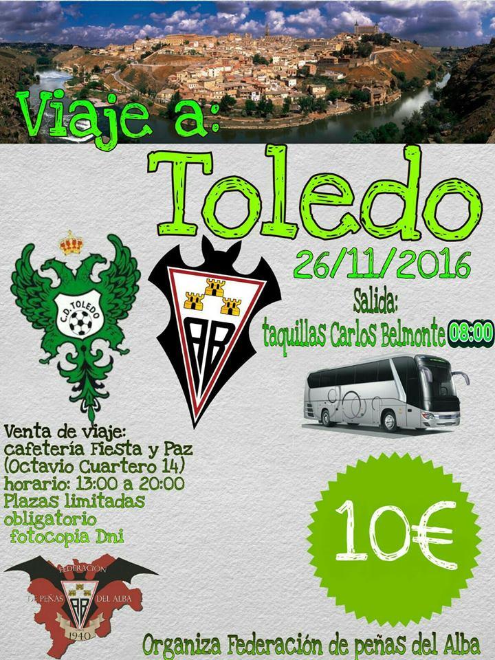 Viaje a Toledo de la Federación de Peñas