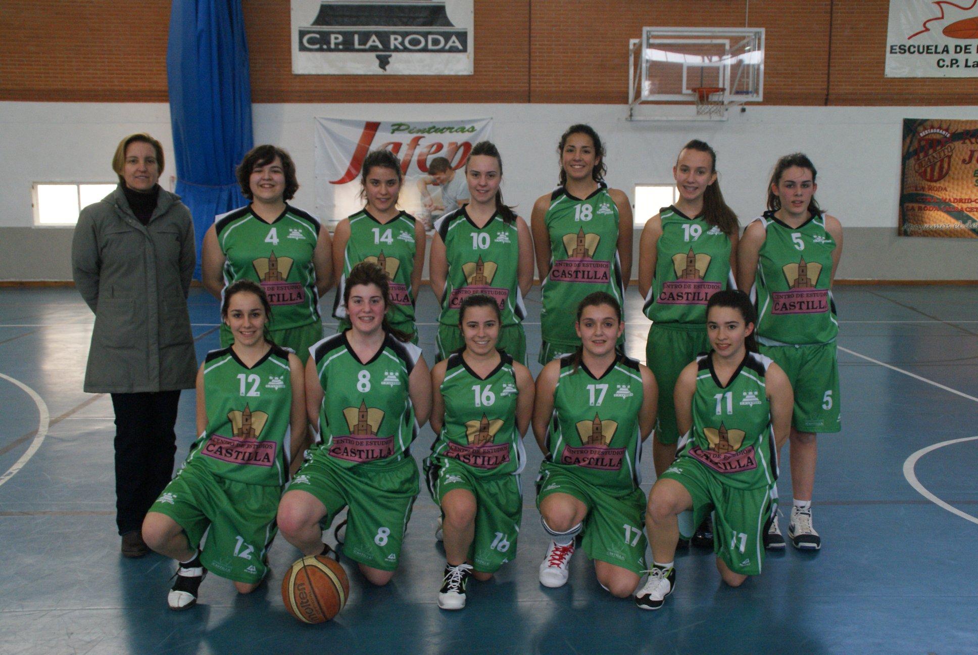 Equipo junior femenino de La Roda