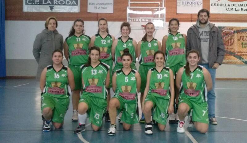 Centro de Estudios Castilla CP La Roda (Foto: Basket La Roda)