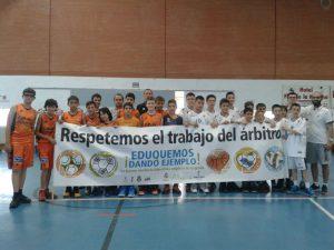 Clinic arbitral en el Torneo Marca Villa de La Roda