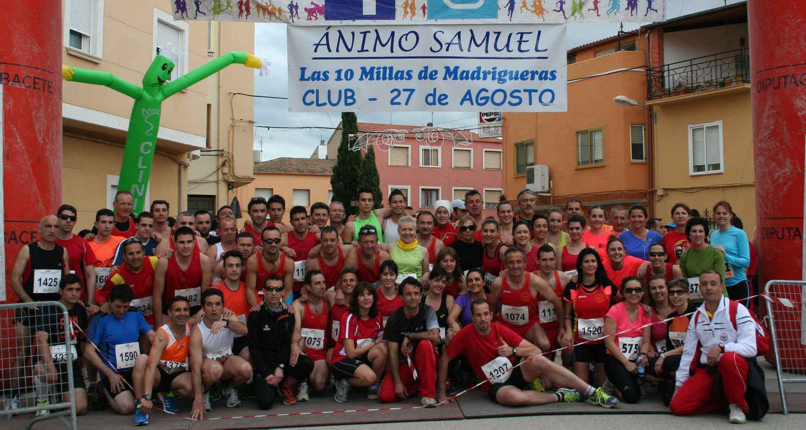 Club de Atletismo 27 de agosto Madrigueras (Foto: Paco Villaescusa)