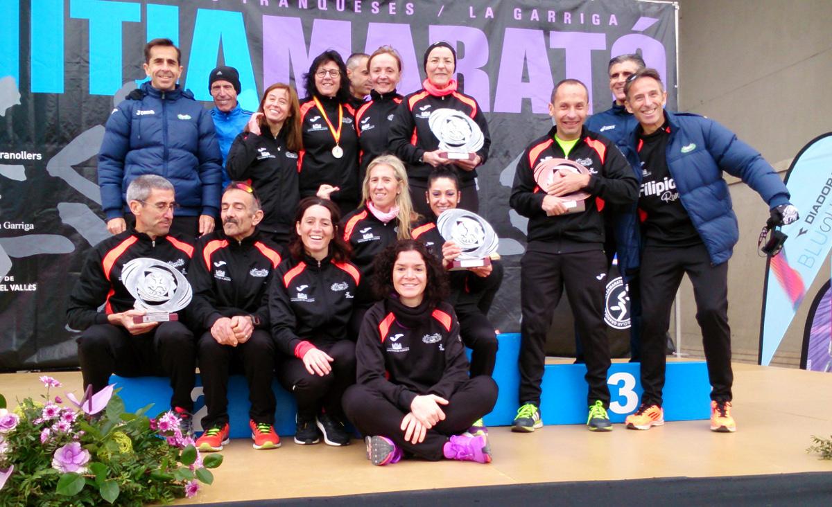 Club de Atletismo Albacete-Diputación en Granollers
