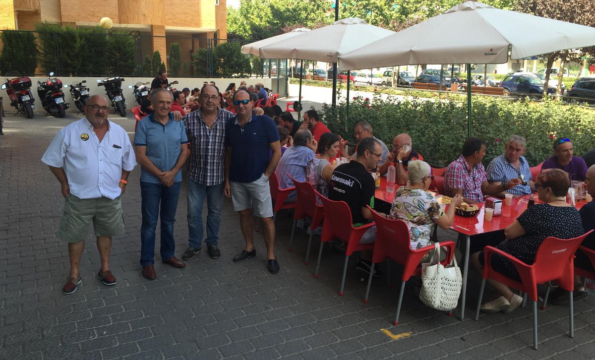 Comida del Moto Club Albacete