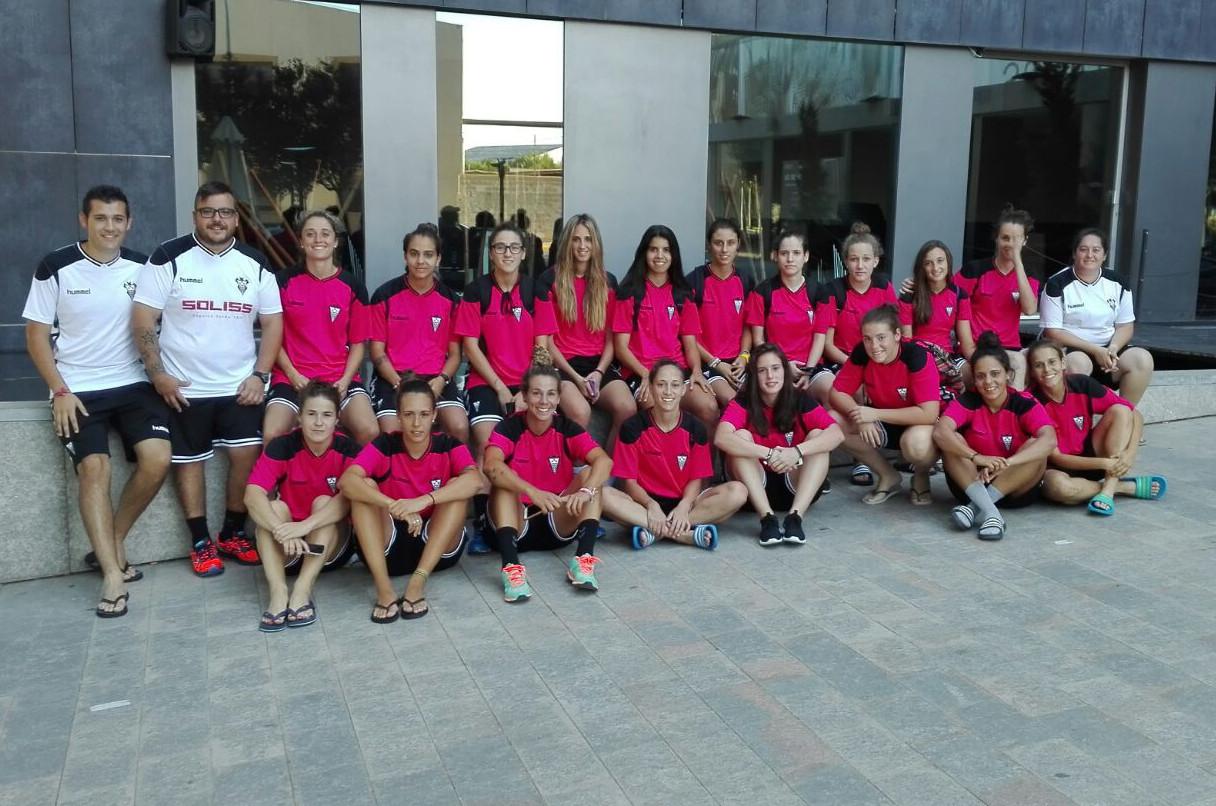 Concentración Fundación Nexus Albacete en Almansa