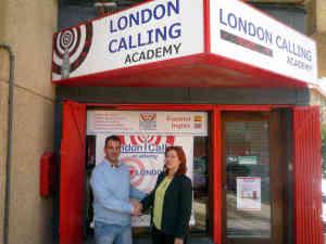 Convenio entre CB UCA y London Calling Academy