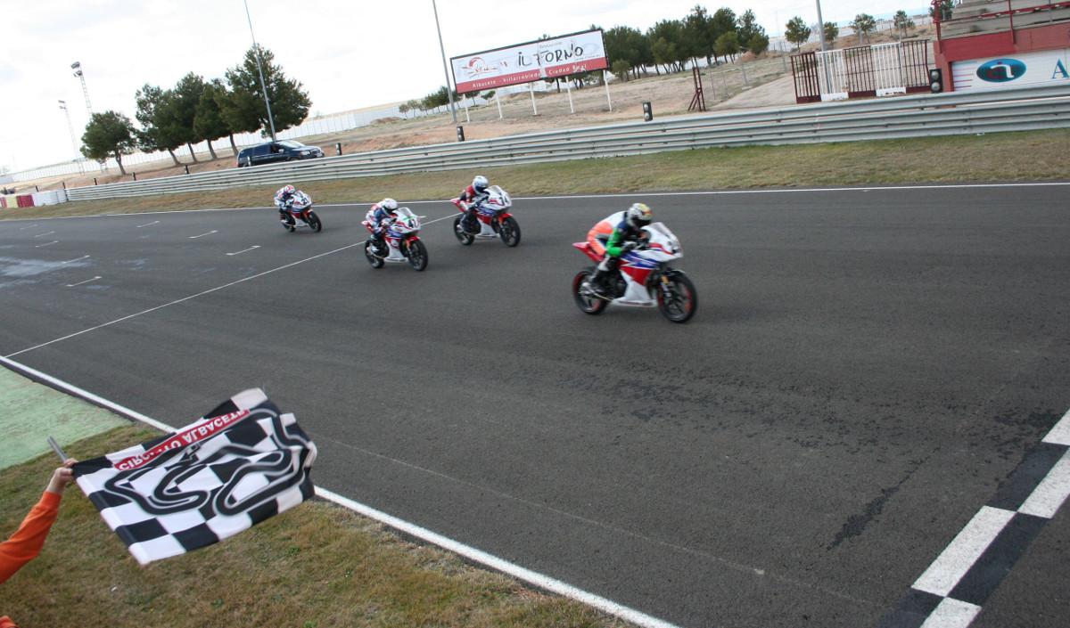 Copa Honda en el Circuito de Albacete