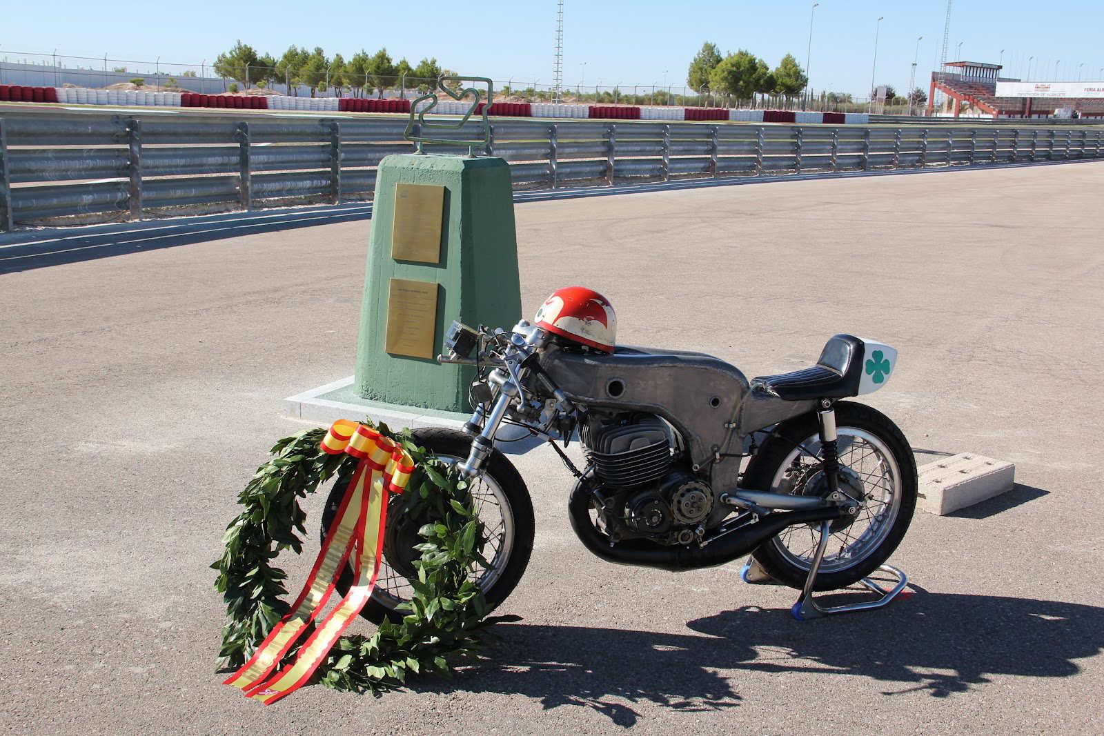 Curva Santiago Herrero en el Circuito de Albacete