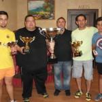 Campeones y terceros