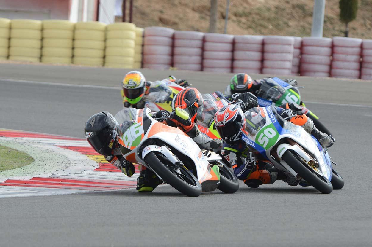 Daniel Holgado en Moto4 (Foto: PhotoManolo)