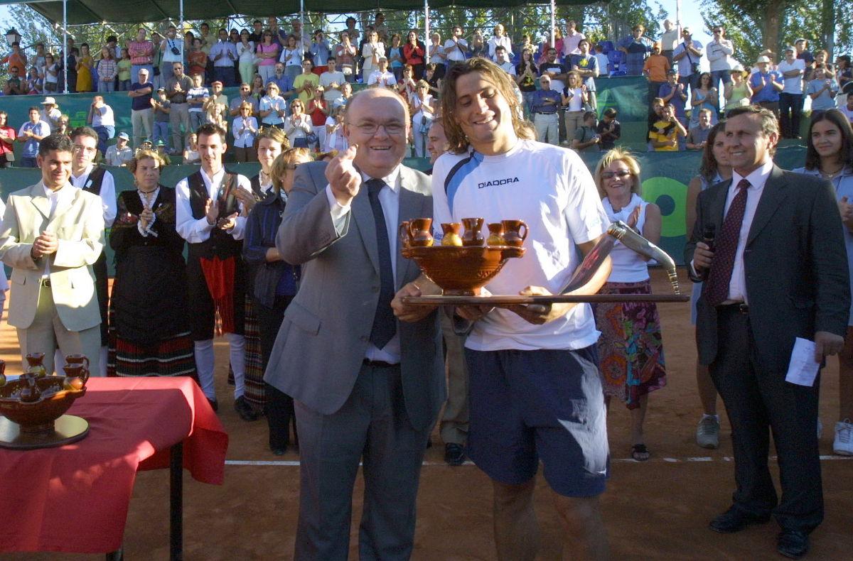 David Ferrer en Albacete 2005