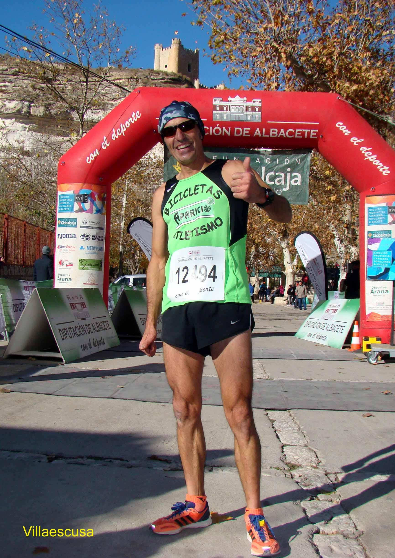 Diego López, campeón del XVII Circuito de Carreras Populares en Alcalá del Júcar