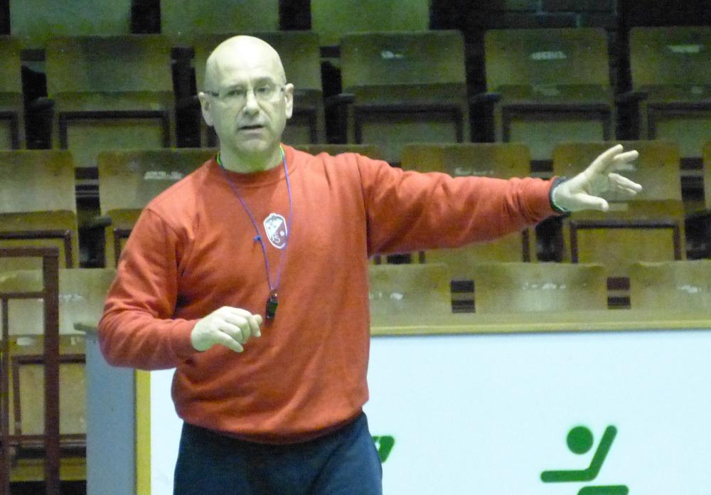 Domingo Cuartero, entrenador del Albacete FS