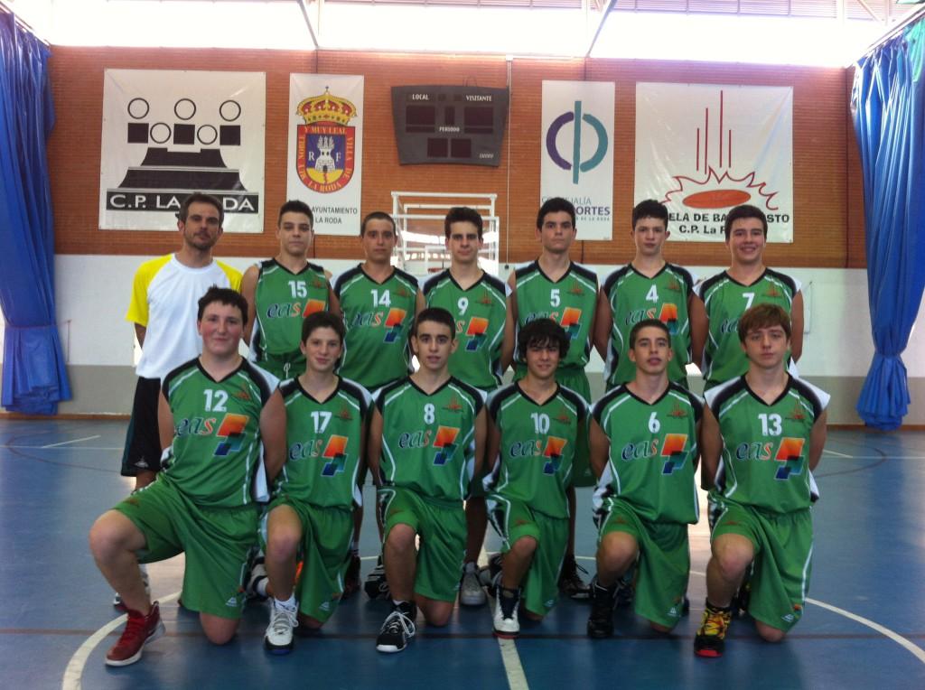 EAS CP La Roda (Foto: Basket CP La Roda)