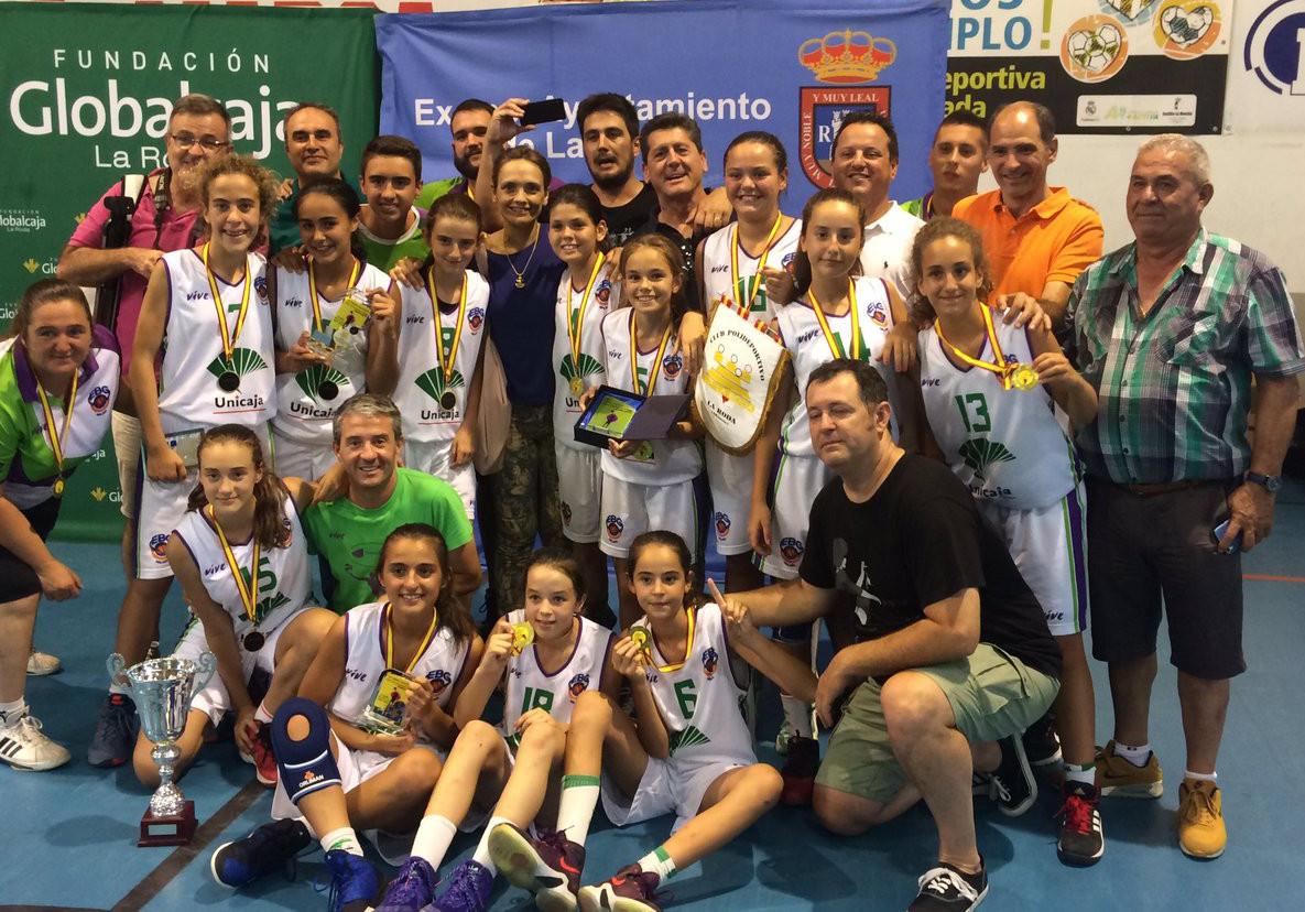 EBG Málaga, campeón del III Torneo de Minibasket Femenino Rodanoble