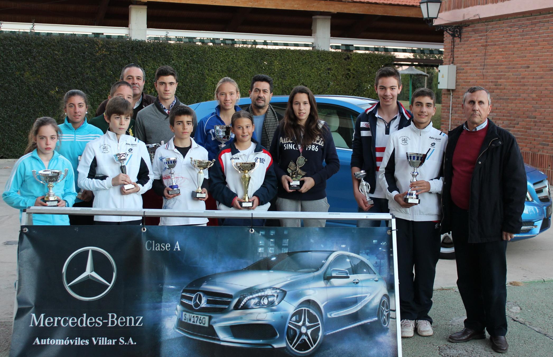 Entrega de premios (Foto: Club Tenis Albacete)