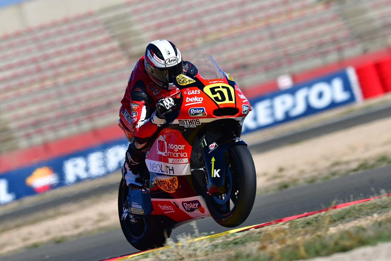 Edgar Pons, pole en Moto2 en el FIM CEV Repsol 2018