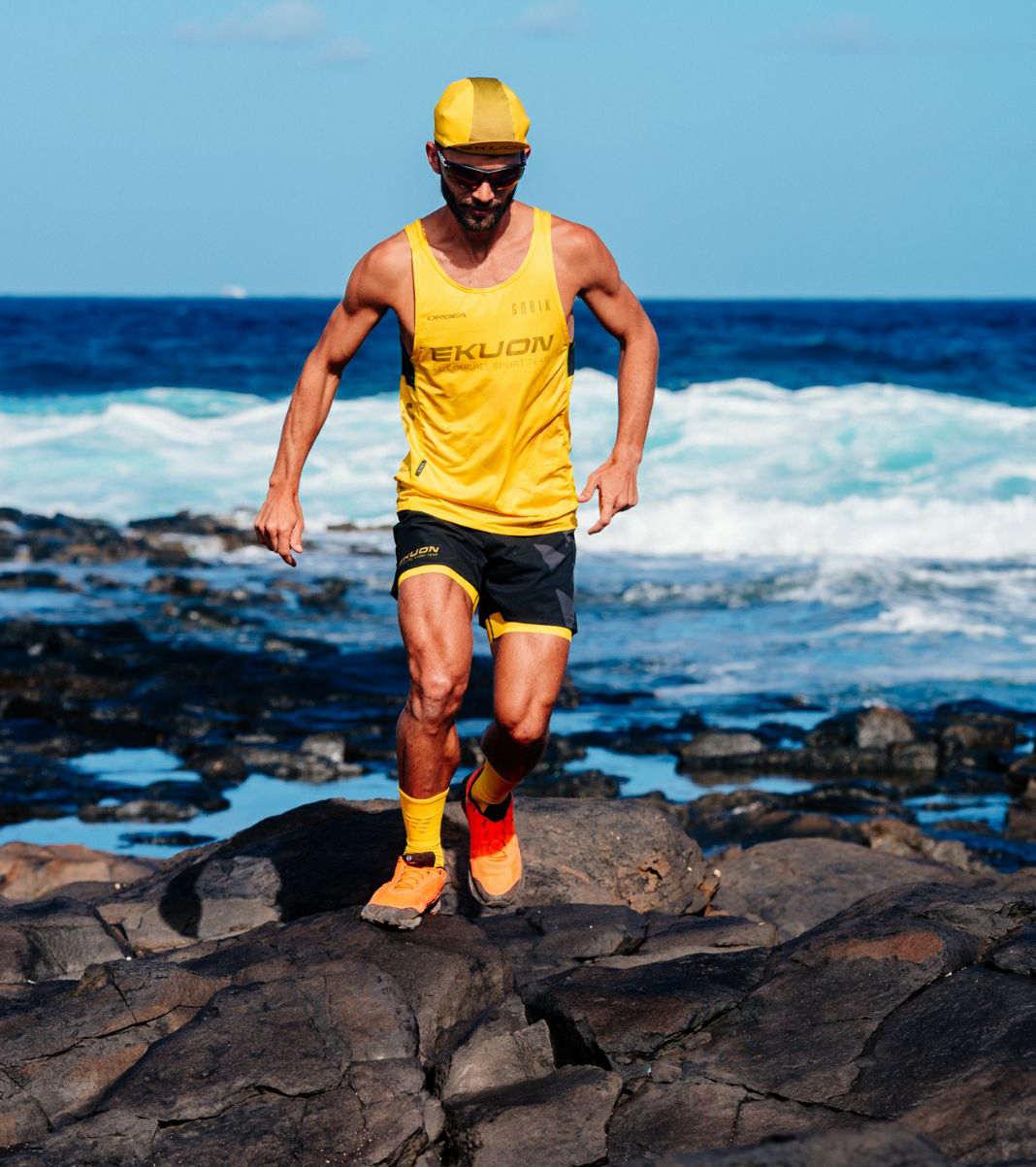 Efrén Segundo, atleta del Ekuon El Conchel Sport Team