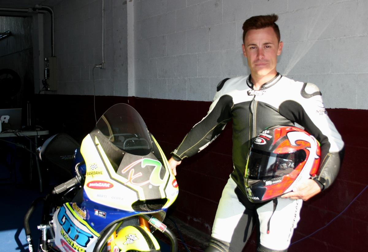 Efrén Vázquez en el Circuito de Albacete