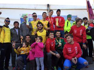 Ekuon El Conchel subcampeón de España de Trail Running