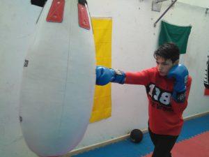 El boxeador albaceteño Alex Muñoz