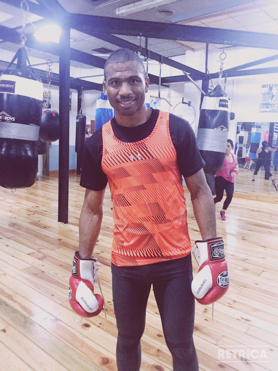 El boxeador Thomas Dulorme