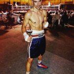 El boxeador almanseño Arturo Tomás