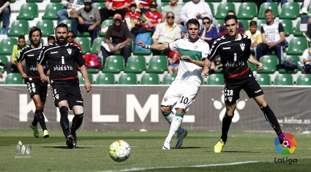 Elche CF - Albacete Balompié (Foto LFP)