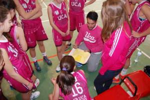 Enrique Moya Bueno, entrenador del CB UCA