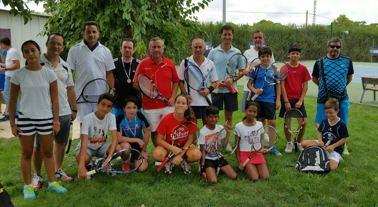 Entrega de premios del Torneo de Padres e Hijos