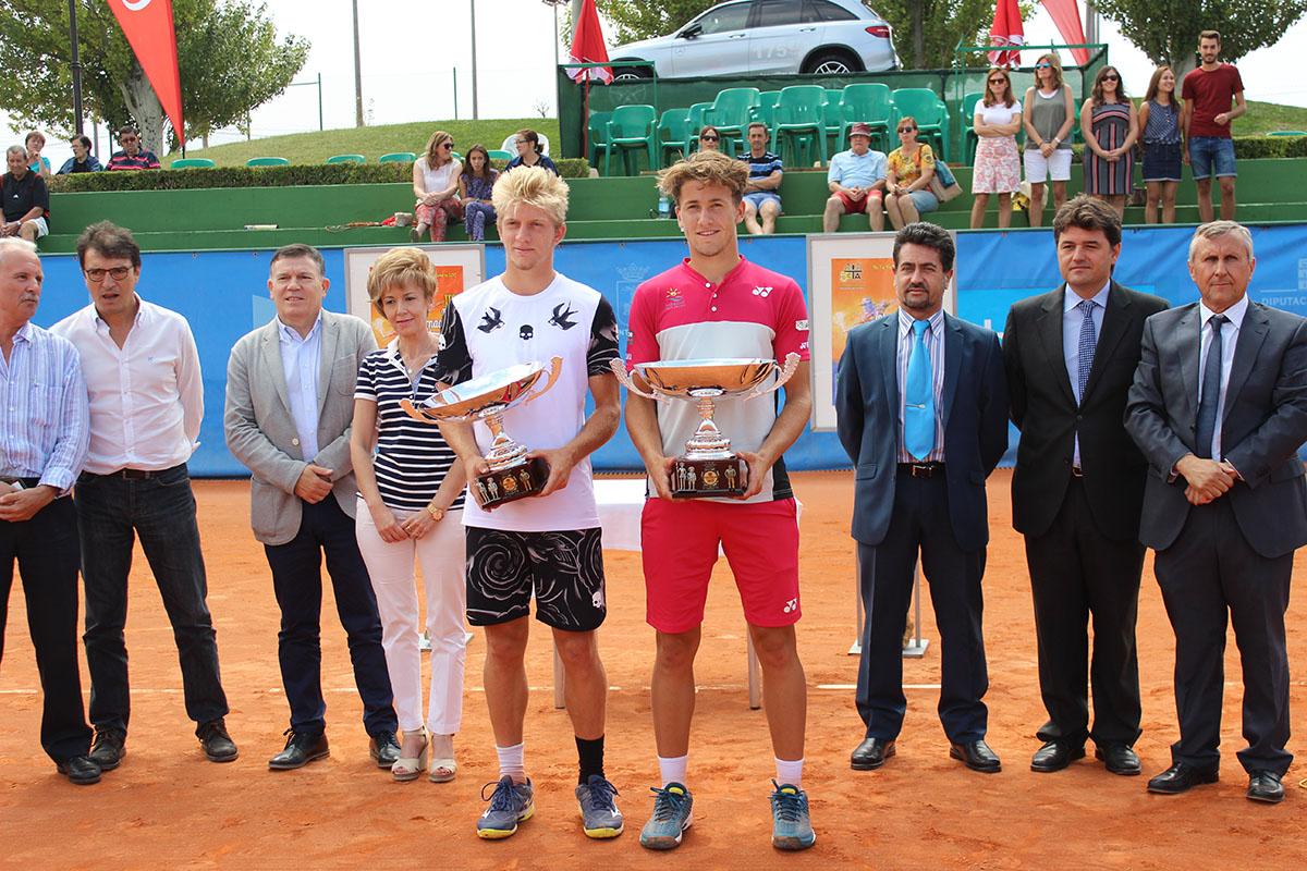 Entrega de premios del Trofeo Internacional de Tenis Ciudad de Albacete