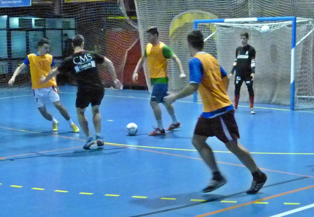 Entrenamiento del Albacete FS