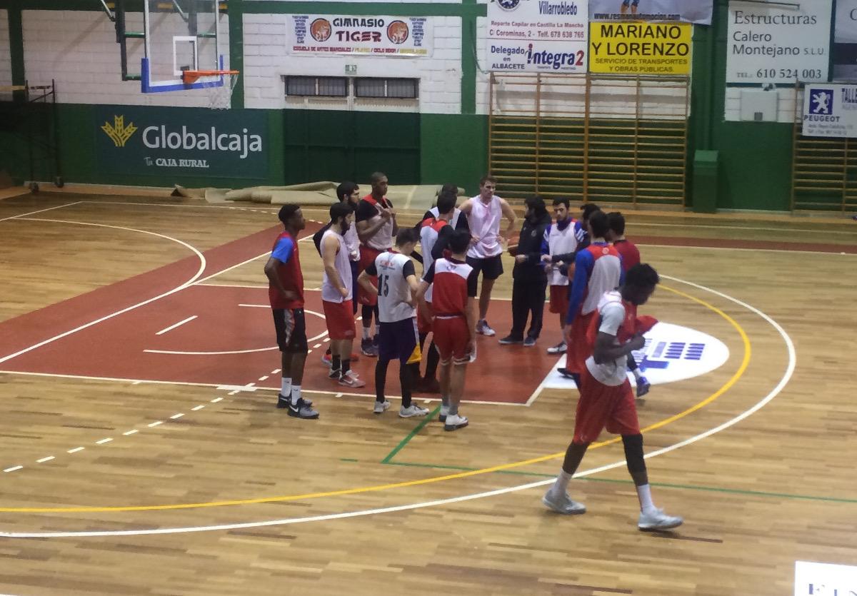 Entrenamiento del CB Villarrobledo
