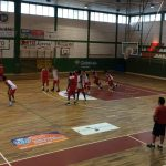 Entrenamiento del Club Baloncesto Villarrobledo 2017