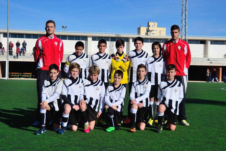 Equipo Alevin Interescuelas CDE Albasit 13-14