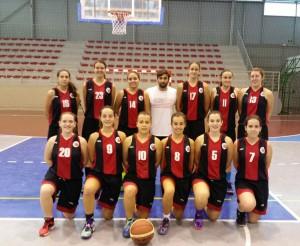 Equipo Junior Femenino del CB EBA