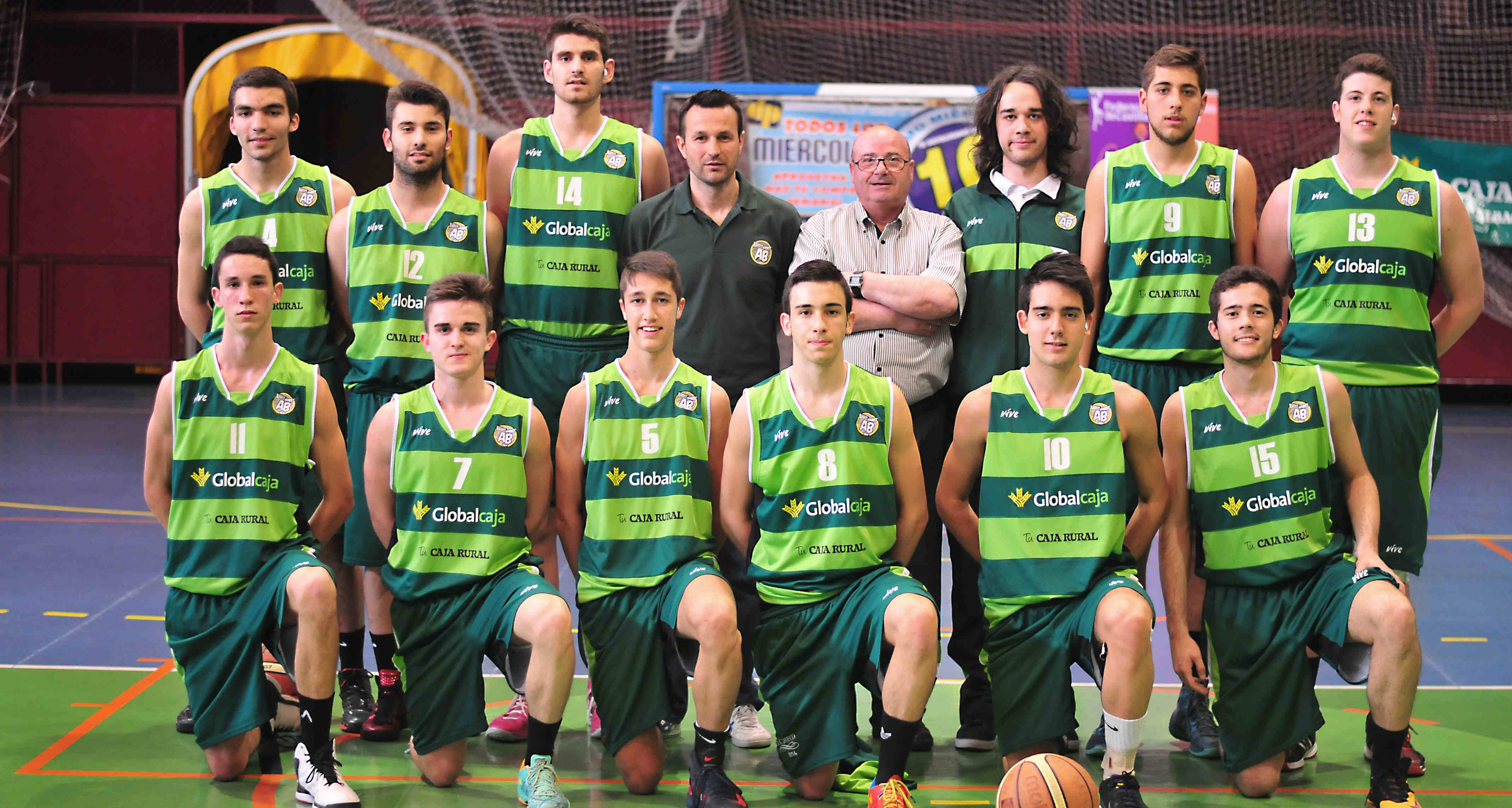 Equipo Junior del Albacete Basket