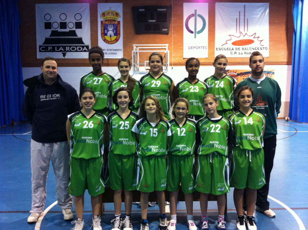 Equipo Minibasket Femenino CP La Roda