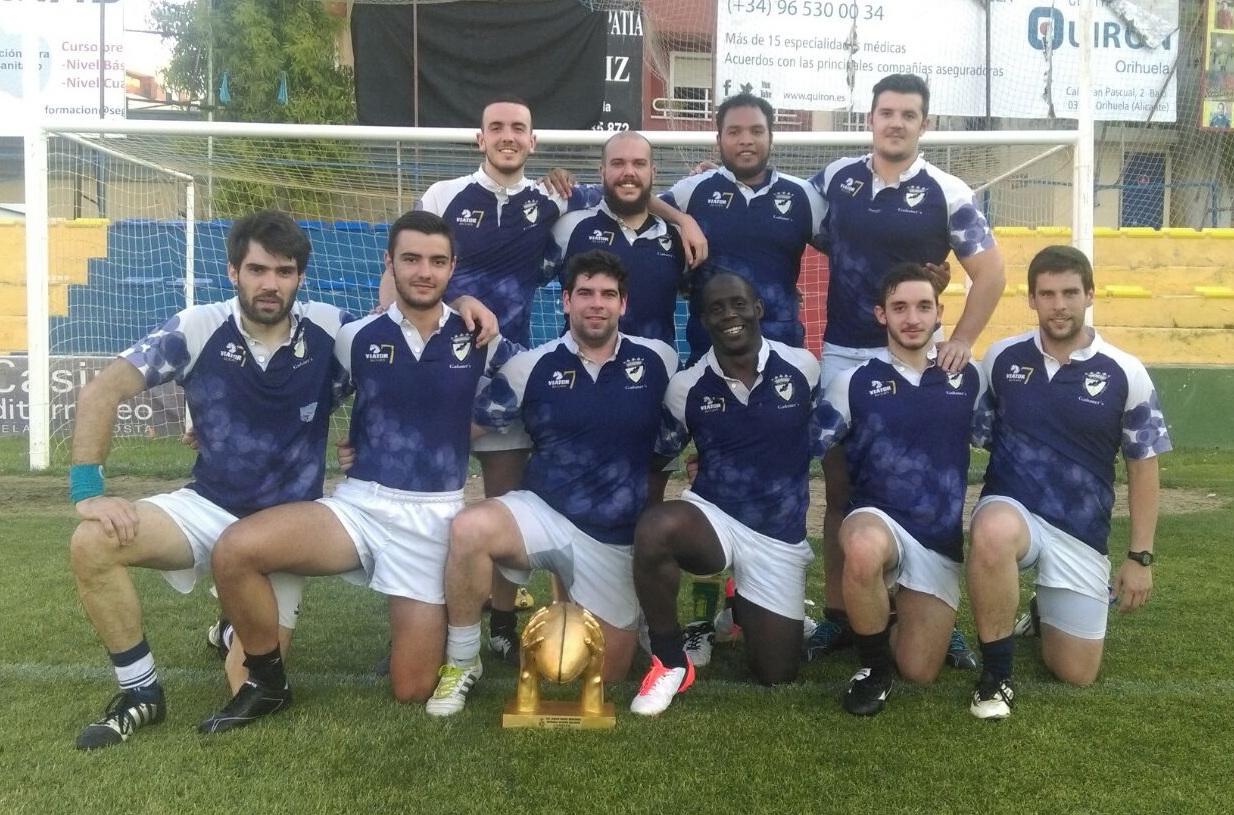 'Los Gañaners', equipo Seven del Club de Rugby Albacete