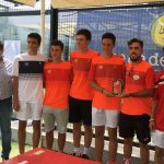 Equipo cadete del Club Tenis Albacete