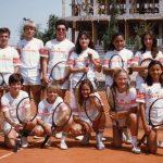 Equipo de competición del Club Tenis Albacete en la Década de los 80